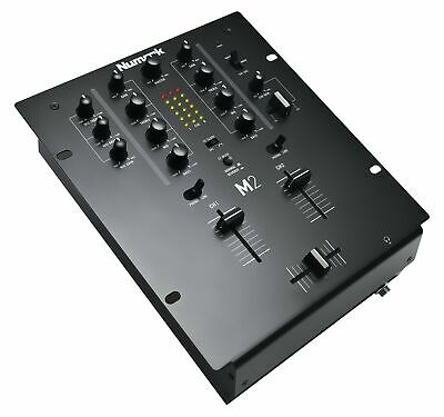 Numark M2 BLACK | Professional Two-Channel Scratch Mixer with 3-band EQ per C...