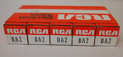 TUBES = 5 new RCA 0A2 for Seeburg Jukebox VL200 KD200 201 161 222 DS AY OA2 USA