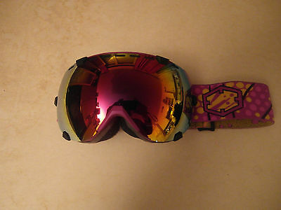 Maschera Da Sci, Snowboard, Out Of Eyes Babe Fire, Nuova