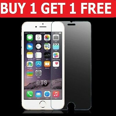 Real Tempered Glass Film Screen Protector For Apple Iphone 6S & 6 - New