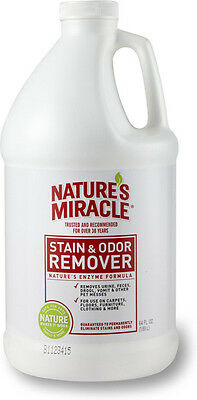 NATURE'S MIRACLE - Pet Stain & Odor Remover - 64 fl. oz. (1.89 L)