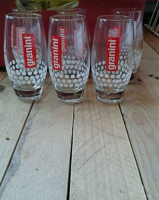 Collection lot de 6 verres granini