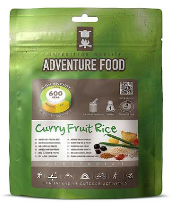 Adventure Food Ready To Eat Dry Meal...Curry Fruit Rice