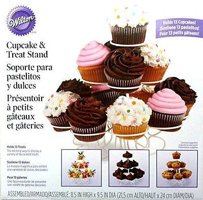 New Wilton 13 Count Cupcake Treat Stand 307-2506 Wedding Tier Cake Display Round