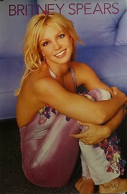 Britney Spears 20x30 Sexy Lavender Music Poster