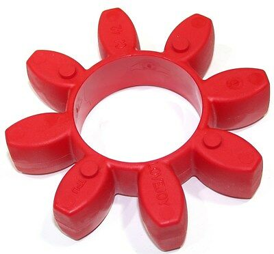 Up To 8 New Red Lovejoy Cj 42 98A Polyurethane Coupling Spiders 62072