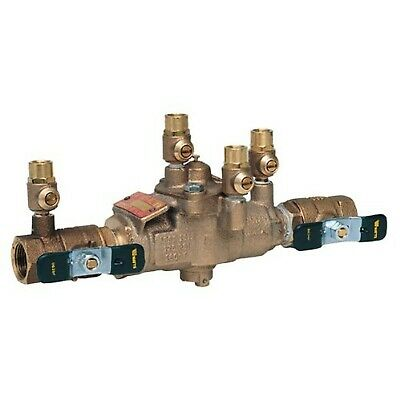 "Watts 1"" 009M2 Backflow Preventer Reduced Pressure Zone Assembly RPZ 1 009M2-QT"
