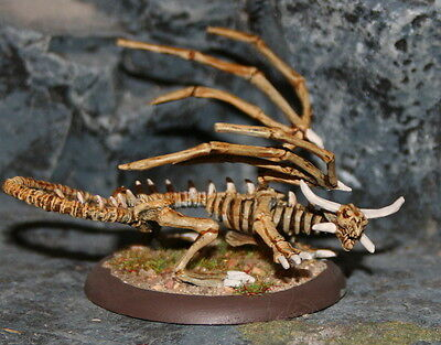 Reape Skeleton Dragon Undead Painted