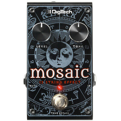 Digitech Mosaic Polyphonic 12-String Effect Pedal, New!