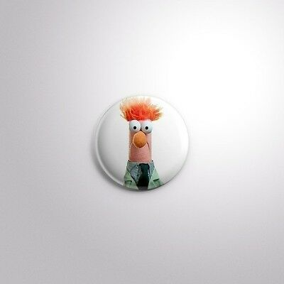 "BEAKER MUPPETS TV NOSTALGIA RETRO KIDS - Pinbacks Badge Button 1"" 25mm"