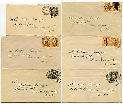 Mexico 1914-16 Conventionalist + Constitutionalist Issues 6 Envelopes...l2