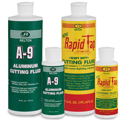 RELTON A9-NRT-KIT Rapid Tap & A-9 Cutting Fluid Combo Pack (Pint and 4 oz.)