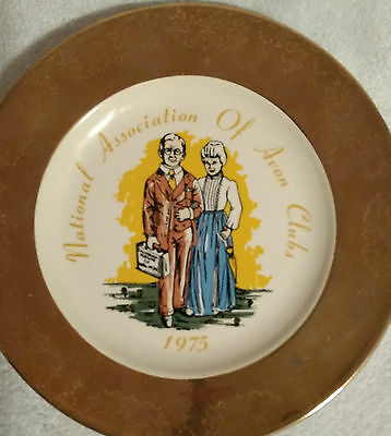 Rare Vintage Avon Commemorative Plate 1975 NAAC Plate