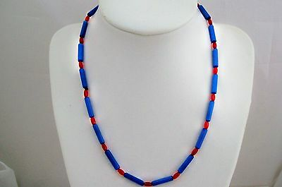 10 Beading Projects-Blue Cats Eye Surf Choker/Necklace - Healing - Child Party