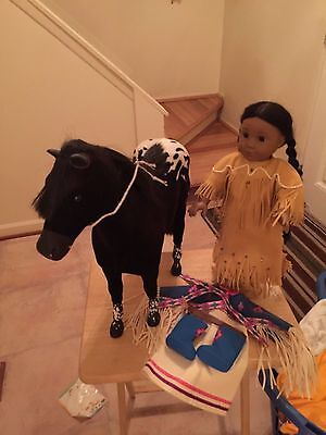 American Girl Pleasant Company Kaya Pow Wow Dress,Steps High & Sparks Fly &MORE