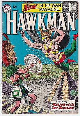 Hawkman #1 G+ 2.5 Murphy Anderson Art First Issue!!