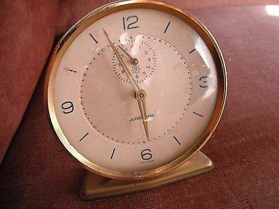 Vintage alarm clock junghans - selling NOT working - made in Germany