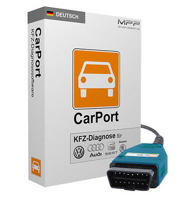 CP-Interface + CarPort Software Vollversion Basis-Modul CAN  VW Audi Seat Skoda