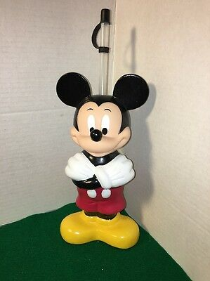 Disneyland Mickey Mouse Shaped Big Sipper Bottle! Unused! Cast Member Owned!