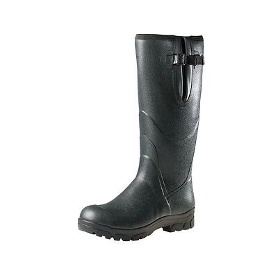 Allcock Neoprene Lined Wellington Field Boot - All Sizes - Footwear