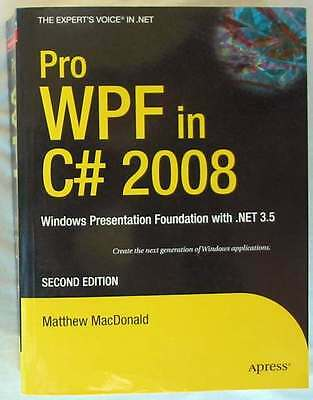 Pro Wpf In C# 2008 - Windows Presentation Foundation With .net 3.5 - 2008 - Ver