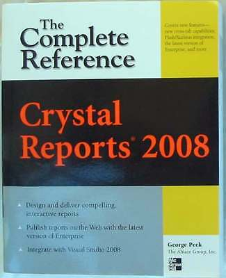 CRYSTAL REPORT 2008 - THE COMPLETE REFERENCE - McGRAW-HILL - 965 PÁG. VER INDICE