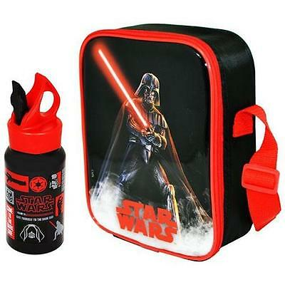 Star Wars - Darth Vader Lunch Bag And Bottle Set - New & Official Lucasfilm