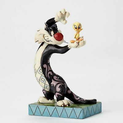 LOONEY TUNES Skulptur by Jim Shore - Sylvester & Tweety - Sammler Figur 4049386