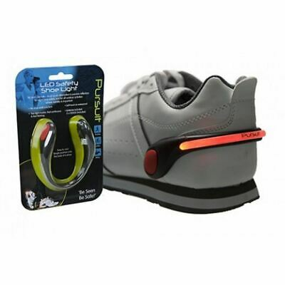 Summit LED Flashing Safety Shoe Light Night Running Walking Fitness Cycling