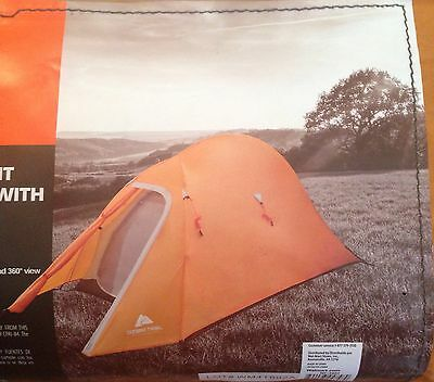 Single Person Tent - Ozark Trail - Backpacking Hiking Camping Lightweight Tent