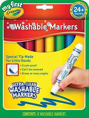 My First Crayola Washable Markers 8 Pack