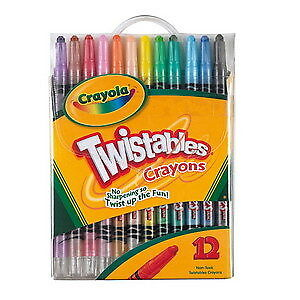 Crayola Twistables Crayons (12 Pack)