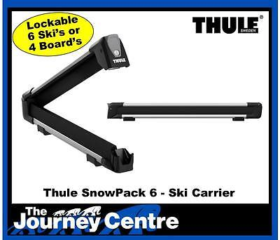 Thule 7326 SnowPack 6 Ski Carrier NEW latest Model Replaces 740 745 746 749 726