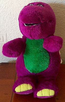 Barney Small 9 Inch Musical Soft Toy By Gund Plays This Old Man