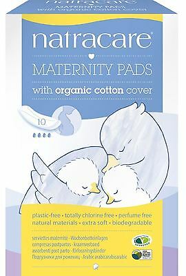Natracare Organic Maternity Pads - 10s (Pack of 3)