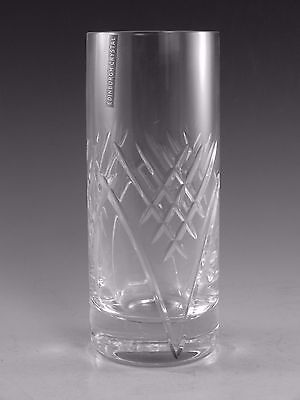 "EDINBURGH Crystal - TORRENT Cut - Hiball Tumbler Glass / Glasses - 6 1/4"" (1st)"