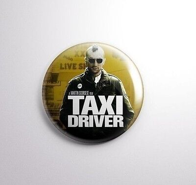 TAXI DRIVER -  Pinbacks Badge Button 25mm 1'' -..