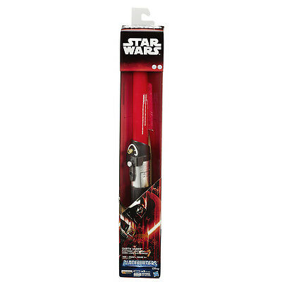 Star Wars The Force Awakens Electronic Bladebuilders Lightsaber - NEW