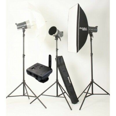 Kit 3 flashes Elinchrom D-LITE RX 4 To Go