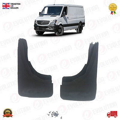 Brand New Pair Of Front Mud Flaps For Mercedes-Benz Sprinter