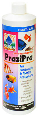 Hikari Pond PraziPro Safest Parasite Treatment Fresh&Marine Aqua -16 fl.oz/473ml