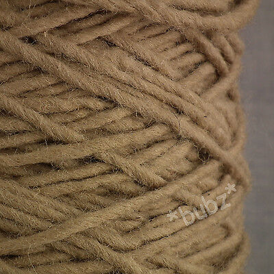 ARCTIC WALRUS RUG WOOL LARGE 400g CONE LIGHT BROWN NATURAL CARPET YARN LOPI STYL