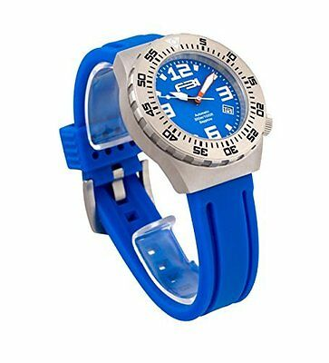 FBI Men's Divers Automatic  Chronograph Stainless Steel Watch - Model 114101BLU