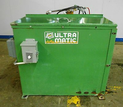 Ultramatic, Portaburr 5, 2Hp, 5 Cubic Foot Capacity