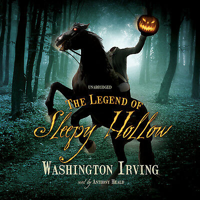 The Legend of Sleepy Hollow by Washington Irving CD 2010 Unabridged