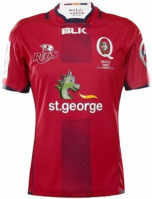 Queensland Reds 2016 Home Jersey 'Select Size' S-5XL BNWT