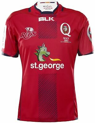 Queensland Reds Home Jersey 'Select Size' S-5XL BNWT6
