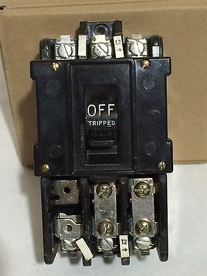 General Electric CR1062R2ABT1000 Manual Full Voltage Starter Switch