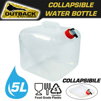 5L Portable Folding Drinking Water Bag Outdoor Camping Bladder Reservoir