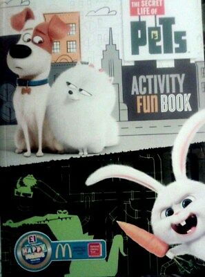 Sale SECRET LIFE OF PETS, THE ACTIVITY BOOK NEW free P&P MOVIE BOOK